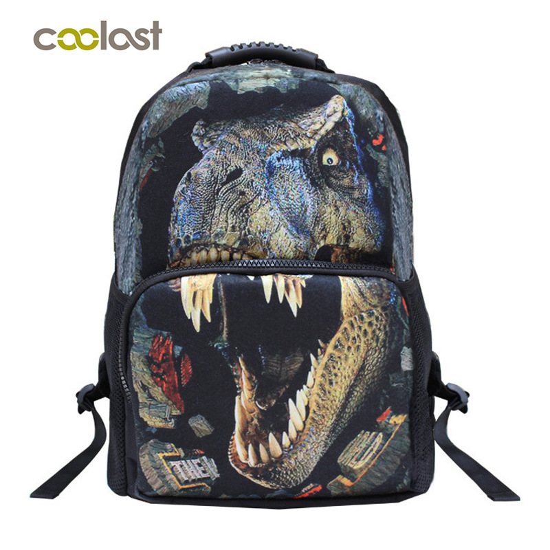 Cartoon Animals children backpack lovely birthday gift Shoulder bag 17 birthday gift Dino Leopard Dragon Felt
