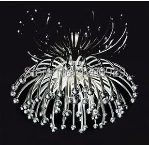 Free Shipping Modern Glass ABS Chrysanthemum Pendant Light Creative Home Decoration Pendant Lamp PLL-29