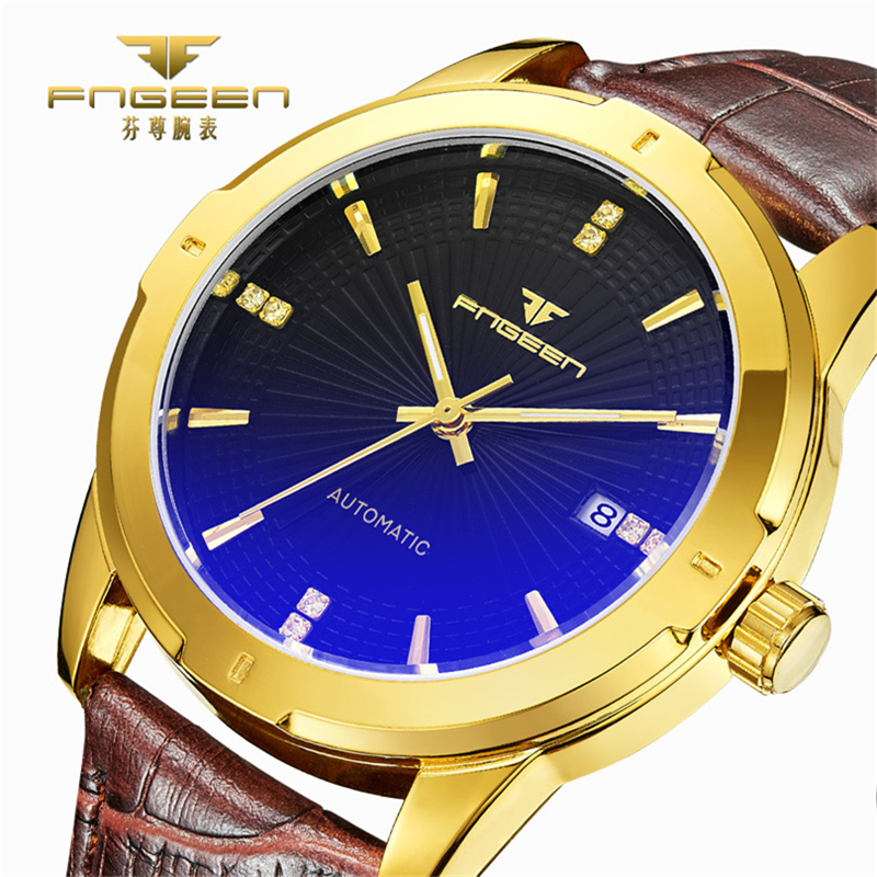 online get cheap accurate watches men aliexpress com alibaba group accurate high quality automatic mechanical watches man s hobby luxury status symbol leather switzerland wristwatch 6802p