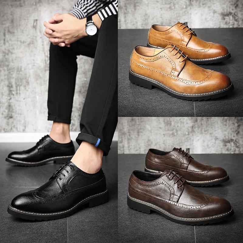Chaussures 592 Fur D'affaires Robe black yellow fur Ww De fur Formelle Hommes brown Richelieus Doux Masorini Élégant wUTFHtT