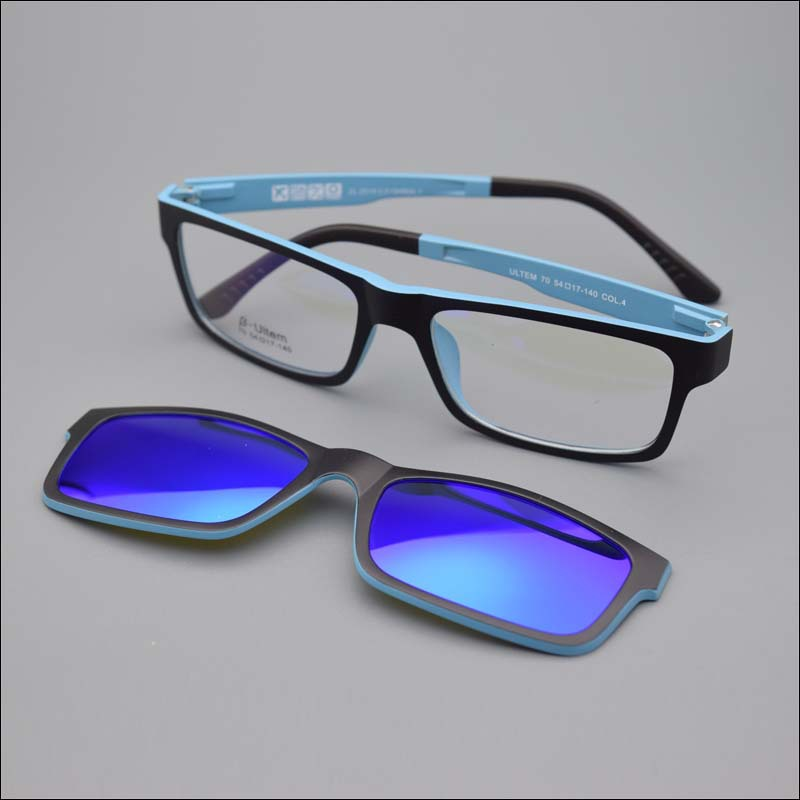 70c5252052 Detail Feedback Questions about Ultra light Glasses Magnet Clip Sunglasses  Myopia Glasses Polarized Sunglasses Functional 3D Glasses Ultem Uv 400  Glasses ...