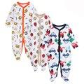 2016 Primavera Outono Roupa Do Bebê Recém-nascido Meninos Meninas Macacão de Bebê Infantil Menino Macacão Roupas Do Corpo Do Bebê Recém Nascido