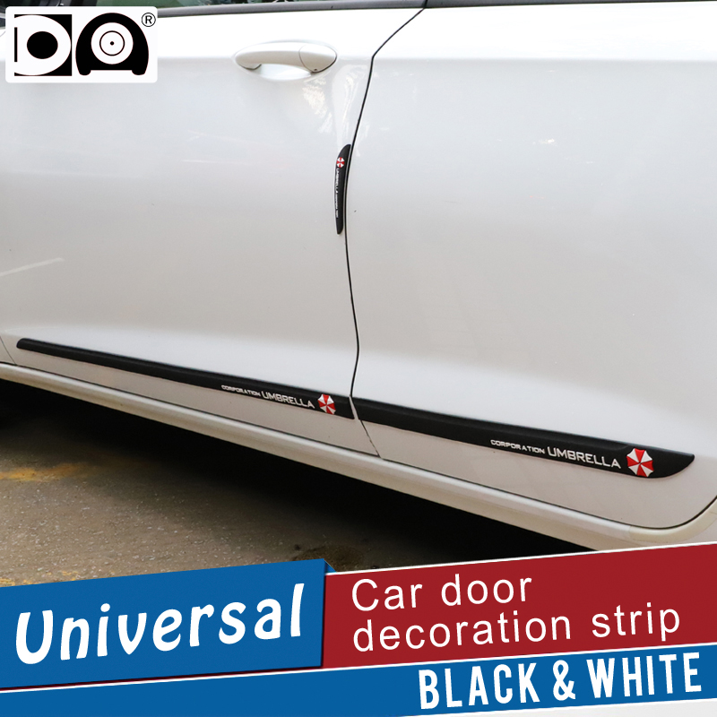 Car door lengthen anti collision strips car protector styling decoration scratch cover for Chevrolet Trax Sonic Cruze Camaro in Styling Mouldings from Automobiles Motorcycles