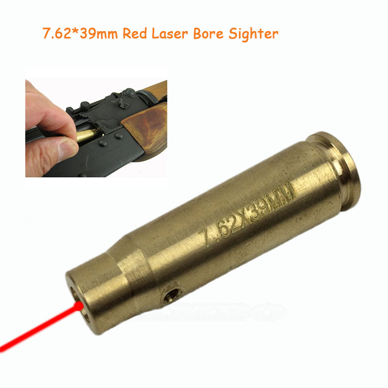 Lumiparty Cal: 7.62x39mm Caliber Cartridge Air Gun Sks Red Laser Bore Sighter Tactical Boresighter Air Soft Laser Pointer Sight Latest Technology