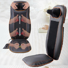 Auto Back Shiatsu Kneading Massager for Car&Home Use with Infrared Heat Made In China 2016