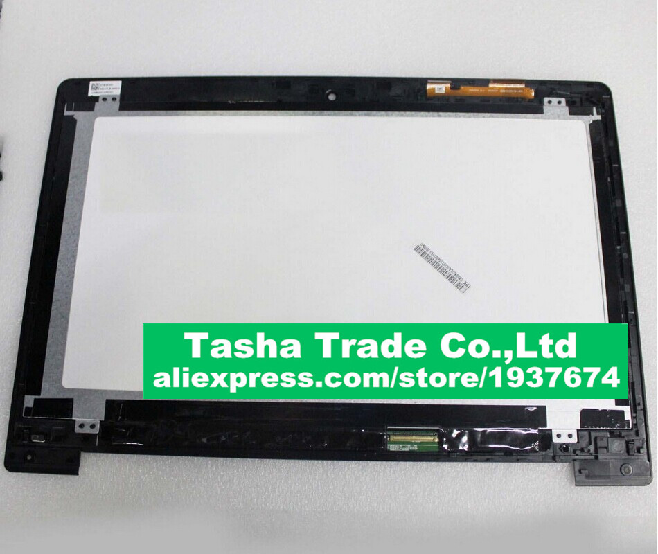 Per Asus VivoBook S400 S400CA Assemblea LCD Touch Screen Digitizer + LCD Assembly con TELAIO LUNETTAPer Asus VivoBook S400 S400CA Assemblea LCD Touch Screen Digitizer + LCD Assembly con TELAIO LUNETTA