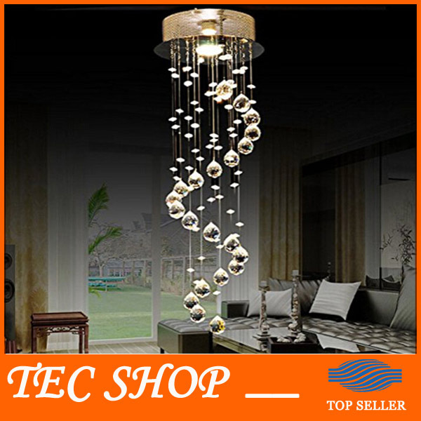 Best Price Modern Crystal Chandelier Ceiling Fixture Flush Mount Light Lamp Diameter 20cmx Height 60cm Aisle Entrance Light gold z best price l80xw80xh100cm modern k9 square crystal chandelier restaurant lamp hanging wire pyramid crystal lamp project lights