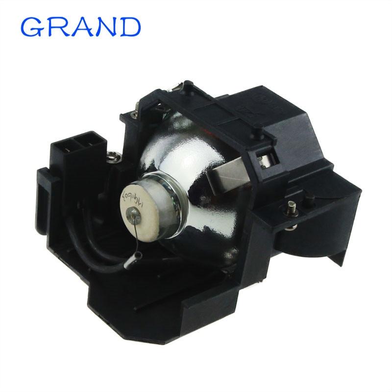 ELP42 Vaihtolamppu, jossa kotelo EMP-280/400 / 400W / 400WE / 410W / 822 / 822H / 83 / 83C / 83H / 83HE / X56; Projektorit GRAND