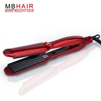 Free Shipping Professional Hair Straightener Iron Adjust Temperature Wide Wave Plate