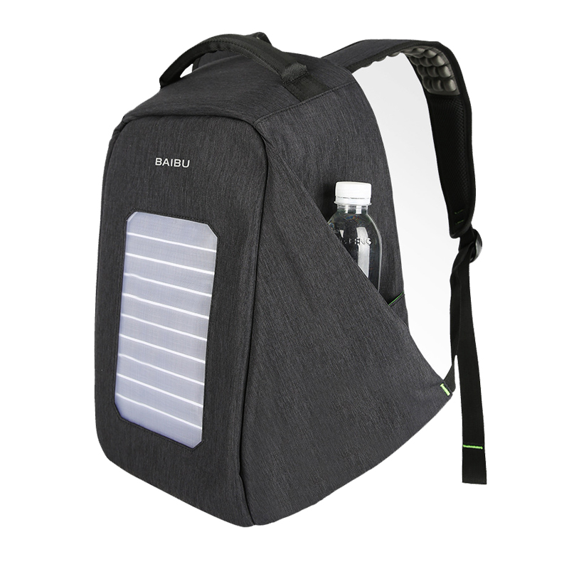 2018 New Solar Charging Backpack for Men and Women Travel Business Bags 16 Inch Laptop Fashion School Bag bagpack mochila 1909
