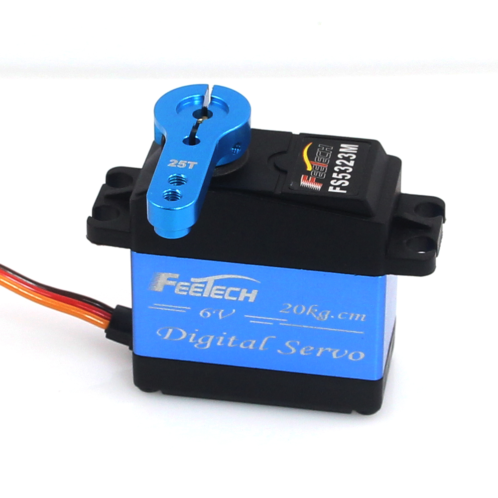 RC Robot Smart Car Truck FEETECH 6V 20kg.cm High Torque Digital Servo baja servo Waterproof servo for baja cars buggy Cr 35kg high torque coreless motor servo rds3135 180 deg metal gear digital servo arduino servo for robotic diy rc car