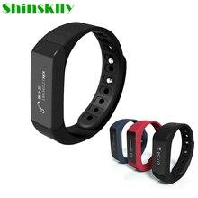 I5 плюс Спорт Смарт-Браслет фитнес-трекер Здоровье сна монитор браслет Bluetooth 4.0 Водонепроницаемый Сенсорный экран Смарт