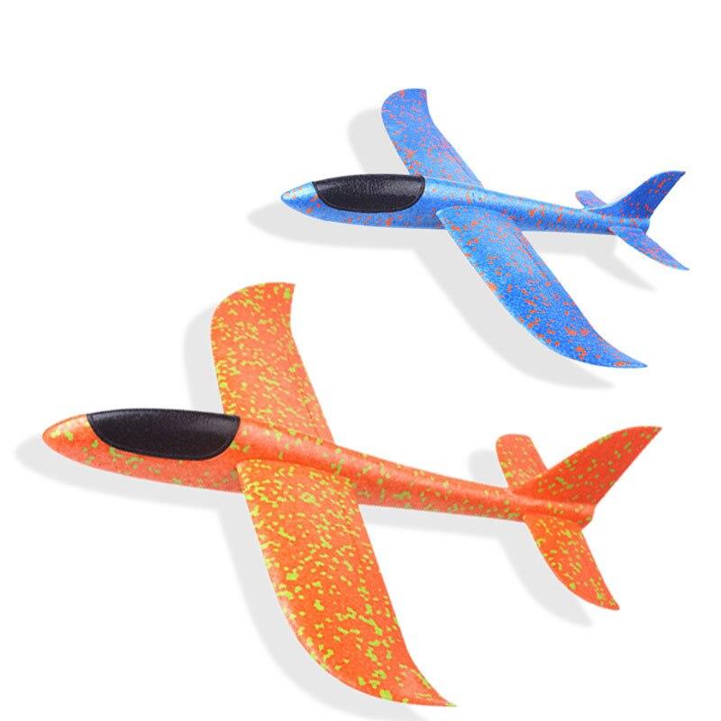 35*30cm Big Hand Launch Throwing Glider Aircraft Inertial Foam EPP Airplane Toy Children Plane Model Outdoor Fun Toys