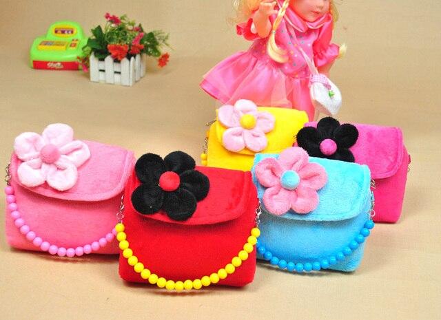 Girl S Crossbody Beads Bags Kids Coin Purse Baby Handbag Children