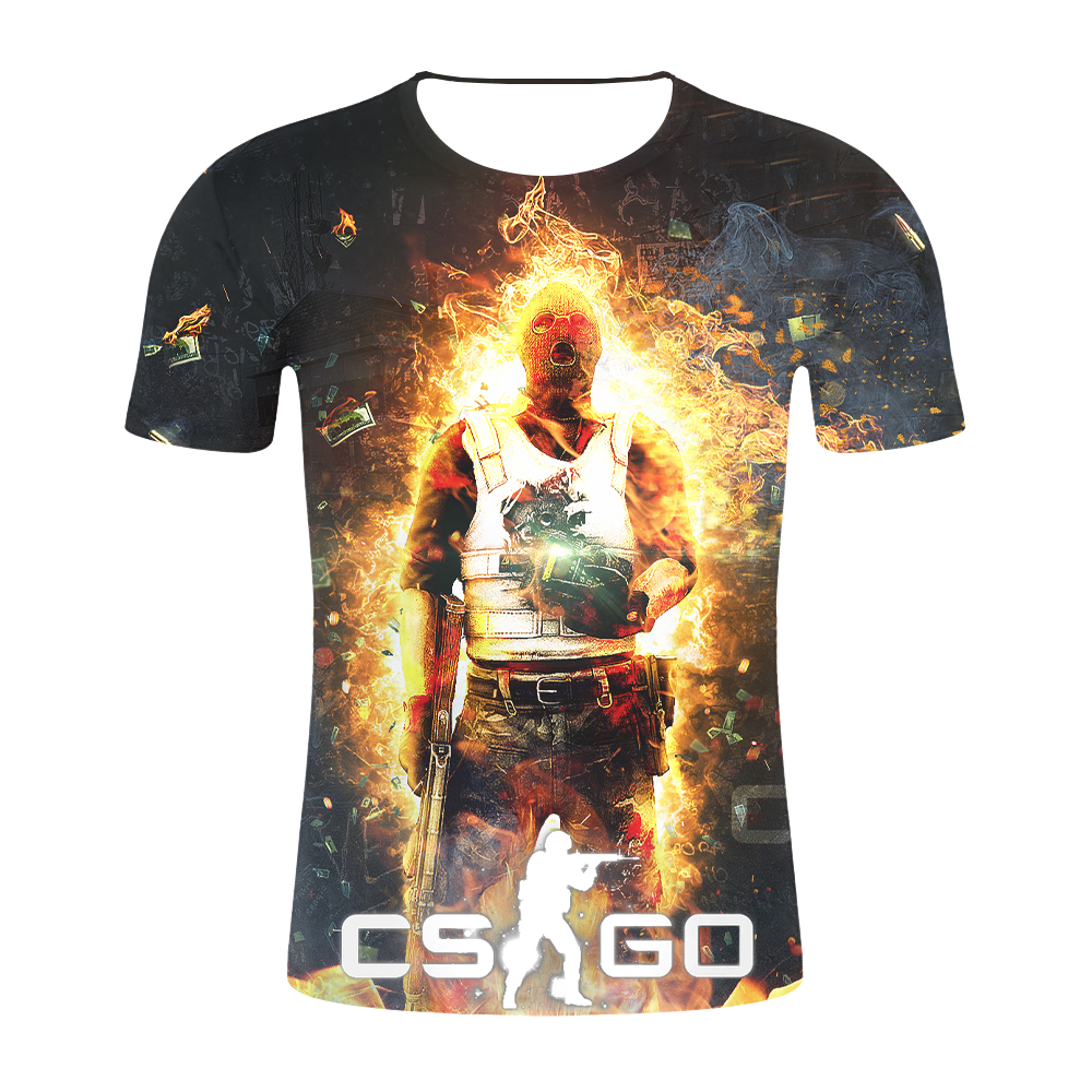 CSGO Counterstrike Global Offensive Personalised PC Gaming T-Shirt Hoodie