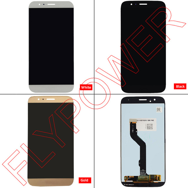 For Huawei Ascend G7 Plus G8 RIO-L02 G8 RIO-L01 RIO-L03 LCD Screen Display with Touch Digitizer Assembly In White/Black/Gold