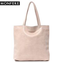 MONFERE Real Leather Tote Bag Women Leather Tote Handbags Serpentine Leather Large Shopping Bag womens genuine leather handbags