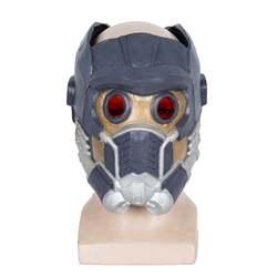 Мстители Звездный лорд Косплэй устрашающая маска латексный шлем маска на Хеллоуин