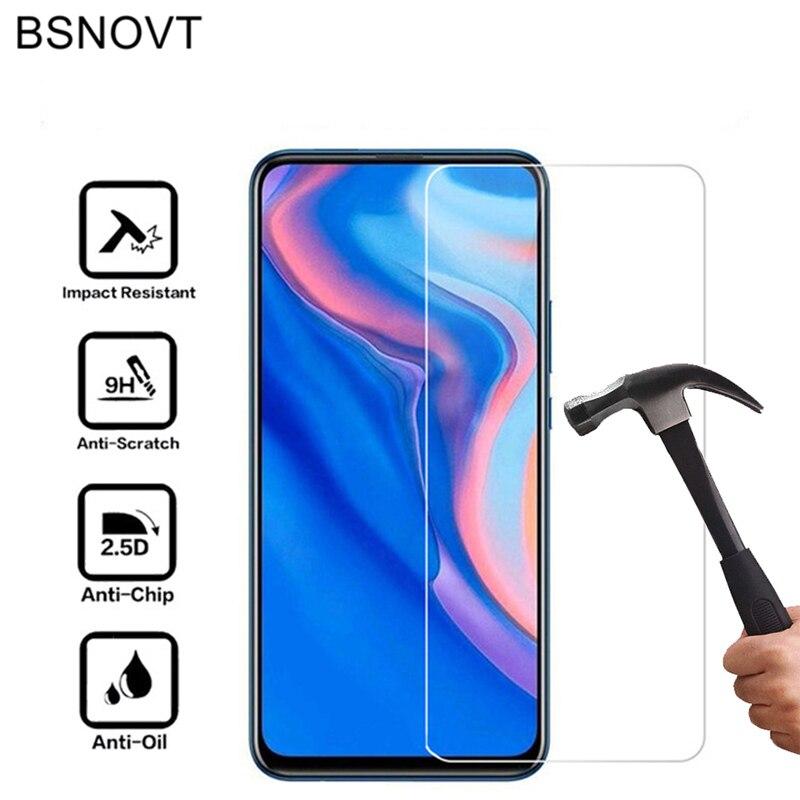 2PCS Para Huawei P Z Inteligente 5 Y7 Y9 2019 Nova T De Vidro de Vidro Para Huawei Y9 Prime 2019 vidro Para Huawei P Z P Inteligente 2019 Filme Inteligente