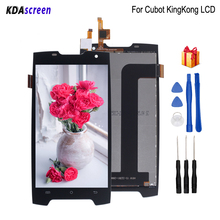 цена на Original For Cubot King Kong LCD Display Touch Screen Replacement For Cubot King Kong Screen LCD Display Phone Parts Free Tools