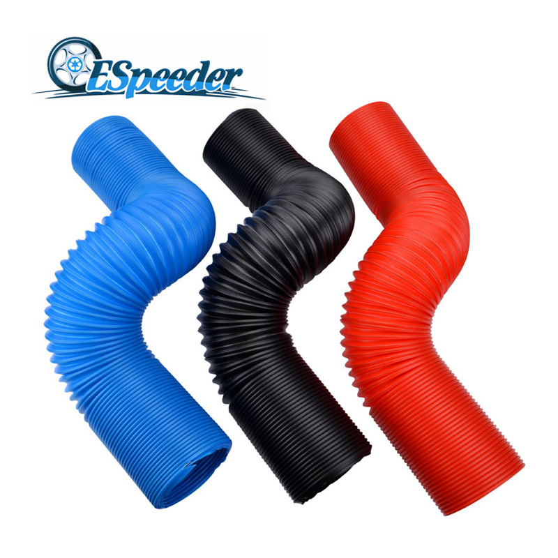 ESPEEDER Car Air Filter Intake Cold Air Ducting Feed Hose Pipe Air Intake Pipe Inlet Hose Tube Flexible