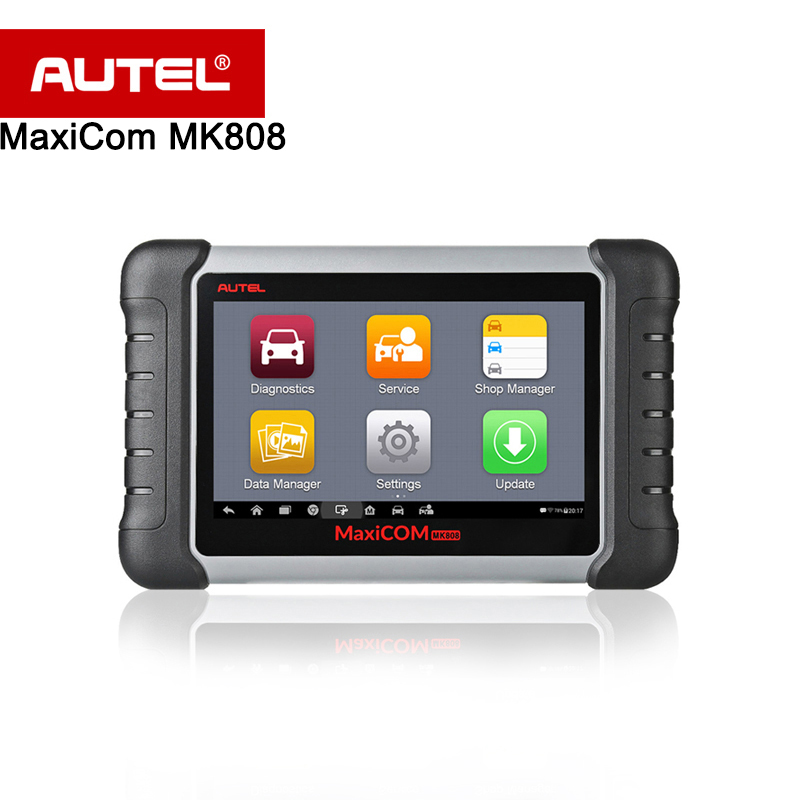 Autel MaxiCOM MK808 Diagnostic Tool 7-inch LCD Touch Screen Swift Diagnosis Functions of EPB/IMMO/DPF/SAS/TMPS same as MX808