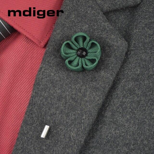 Mdiger бренд Для Мужчин Брошь контакты ткани черный, белый цвет лук булавкой для Для мужчин костюмы Мода Для мужчин ювелирные изделия шпильки с отворотом