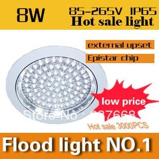 ФОТО 2PCS/lotFree shipping Led Ceiling Light Super Bright Warm/White  High quality  smd led ceiling 85-265v led panel light  8w