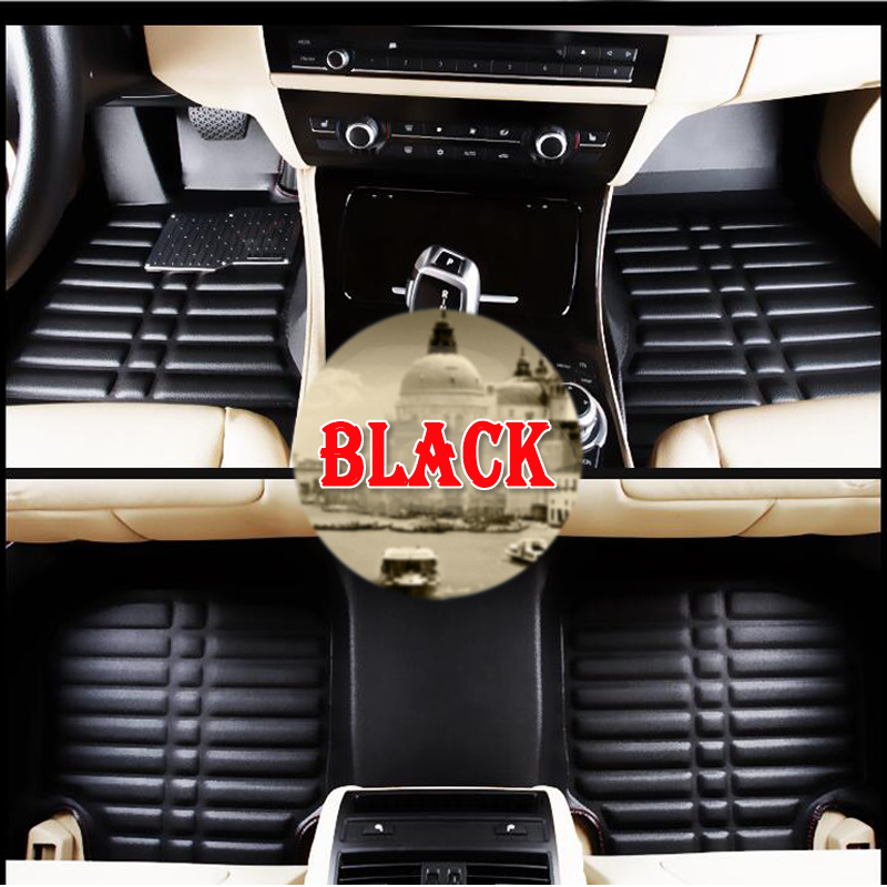 hot Custom fit car floor mats for Volkswagen Beetle CC Eos Golf Jetta Passat Tiguan Touareg 3D car-styling carpet floor liner toilet time floor golf game set