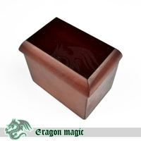 Magic משלוח חינם magic טריקים כרטיסי קופסא מגיה magie כיף מקרוב צעצועי טריק כרטיס לחדור תיבת עץ