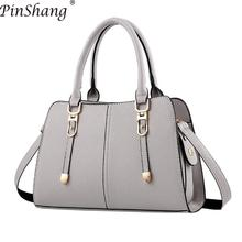 PinShang Women Handbag Fashion PU Lether Satchel Handbag Sin