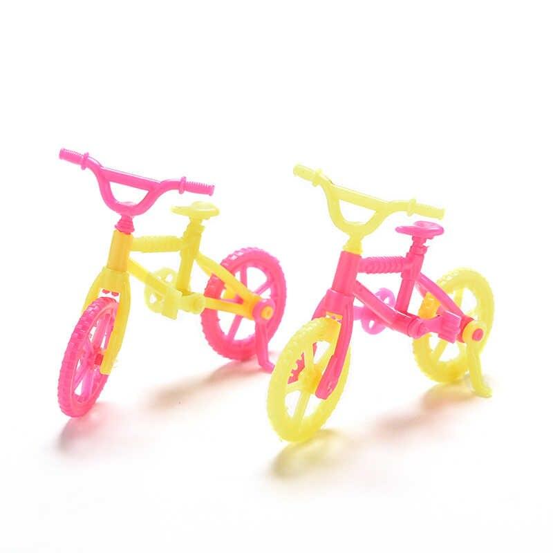 Детский игровой дом, игрушка, детский Кукольный домик, Preted Play, велосипеды ручной работы, игрушка, детский пластиковый мини-велосипед, аксессуары для кукол