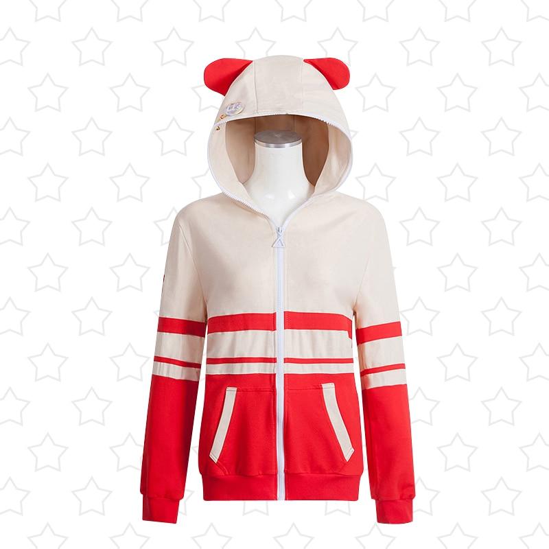 LoveLive! Nishikino Maki Hoodie Cosplay Costumes Jacket Love Live u's SIF School Idol Festival Cardigan Unisex Sport Suit