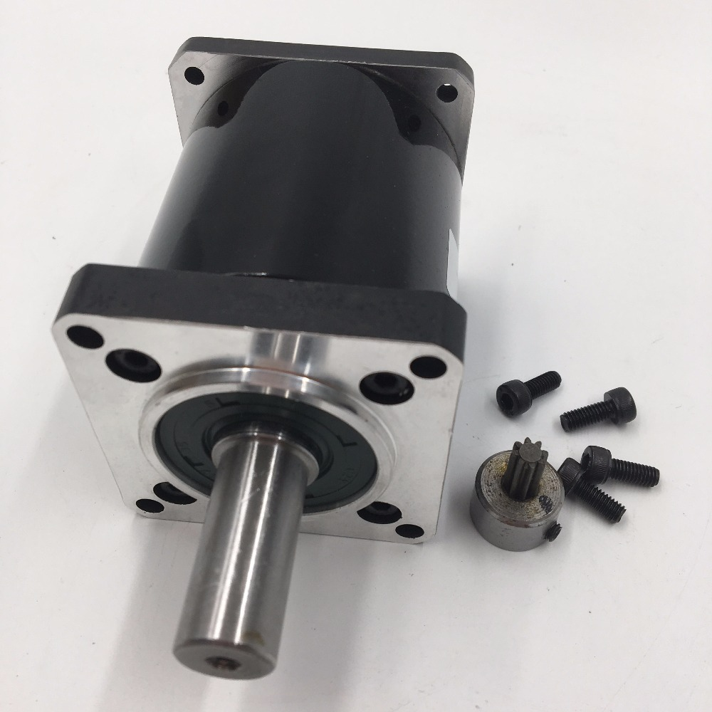 Nema23 Stepper Planetary Gearbox Ratio 40:1 14mm Shaft L70mm Speed Reducer for Flange 57mm Stepper Motor CNC Router MachineNema23 Stepper Planetary Gearbox Ratio 40:1 14mm Shaft L70mm Speed Reducer for Flange 57mm Stepper Motor CNC Router Machine