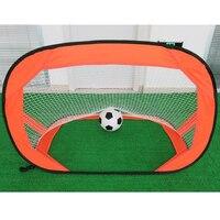 120cm Portable Outdoor Game Soccer Football Goal Net Folding Training Door Net Tent Kids Sport Outdoor Indoor Toys
