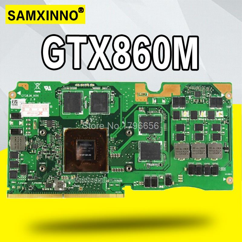 Laptop Motherboard GTX860M G750JM Vga-Card ASUS Graphic for G750jm/Vga-card/Graphic/..