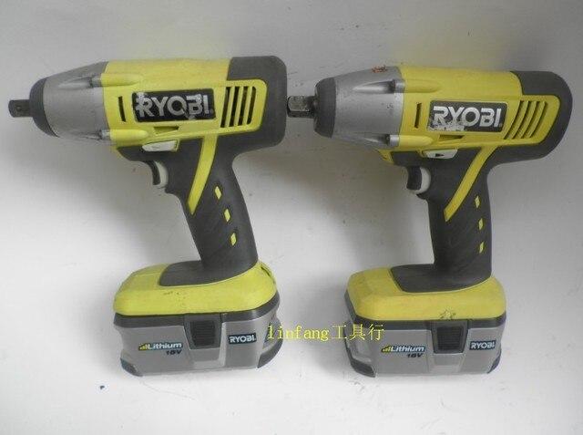 Yoshiaki Ryobi 18v Lithium Cordless Impact Wrench 1 2 Electric Gun