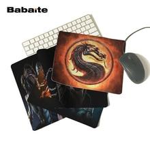 Babaite силиконовый коврик для мыши, ноутбук, компьютерный коврик, глянцевый коврик для мыши, прямоугольный игровой коврик для мыши