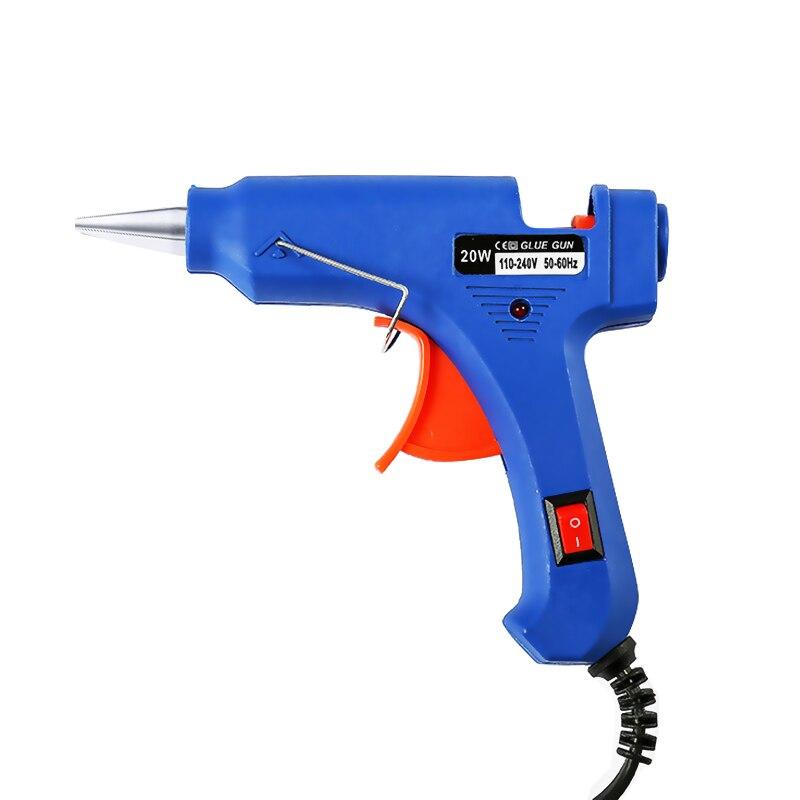 Термоклеевой пистолет 20 Вт ЕС Plug Промышленные мини пистолеты термо Электрический Gluegun тепла температура инструмент прививок ремонт ин