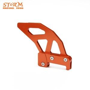 Image 4 - 2020 hinten Disc Rotor Bremse Wache Cover Schutz Pedal Für KTM SX XC XCW SXF SX F EXC EXC F XCF W 125 150 250 300 350 450