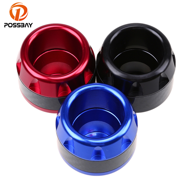 POSSBAY Falling Protector Motorcycle Frame Slider Anti Crash Caps Protection Scooter Pads CNC Aluminum Universal For Harley