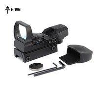 HTEN Sight Polowanie Metalu Optyka Tactical Airsoft Pistolety Powietrza Pole widzenia 15.8m @ 100 m Snajper Pistolet Zakresy Reflex widok