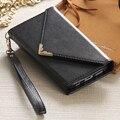 Kisscase slots de cartão magnético flip wallet case para samsung galaxy s7 s6 borda g9350 moda mulheres telefone bag case para iphone 6 7 6 s