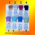 Aeroplano del cinturón de seguridad cinturón de seguridad hebilla de moda de calidad superior 8 color original o beear abrebotellas