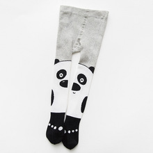 Spring And Autumn Baby pantyhose cotton baby tig black and white animal childrens  wholesale