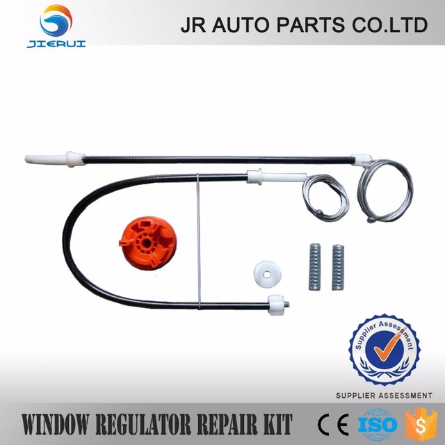 FOR RENAULT MEGANE II MK 2 CABRIOLET CONVERTIBLE WINDOW REGULATOR REPAIR KIT 2/3 - DOOR REAR RIGHT 2002 - 2009