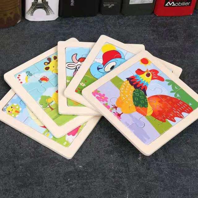 comprar puzle para niños de animales