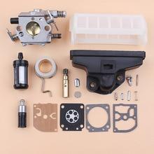 Gaźnik filtr powietrza ślimak pompy olejowej biegów zestaw membrany zestaw do pilarek Stihl MS210 MS230 MS250 021 023 025 Chainsaw Zama C1Q S11E Carb