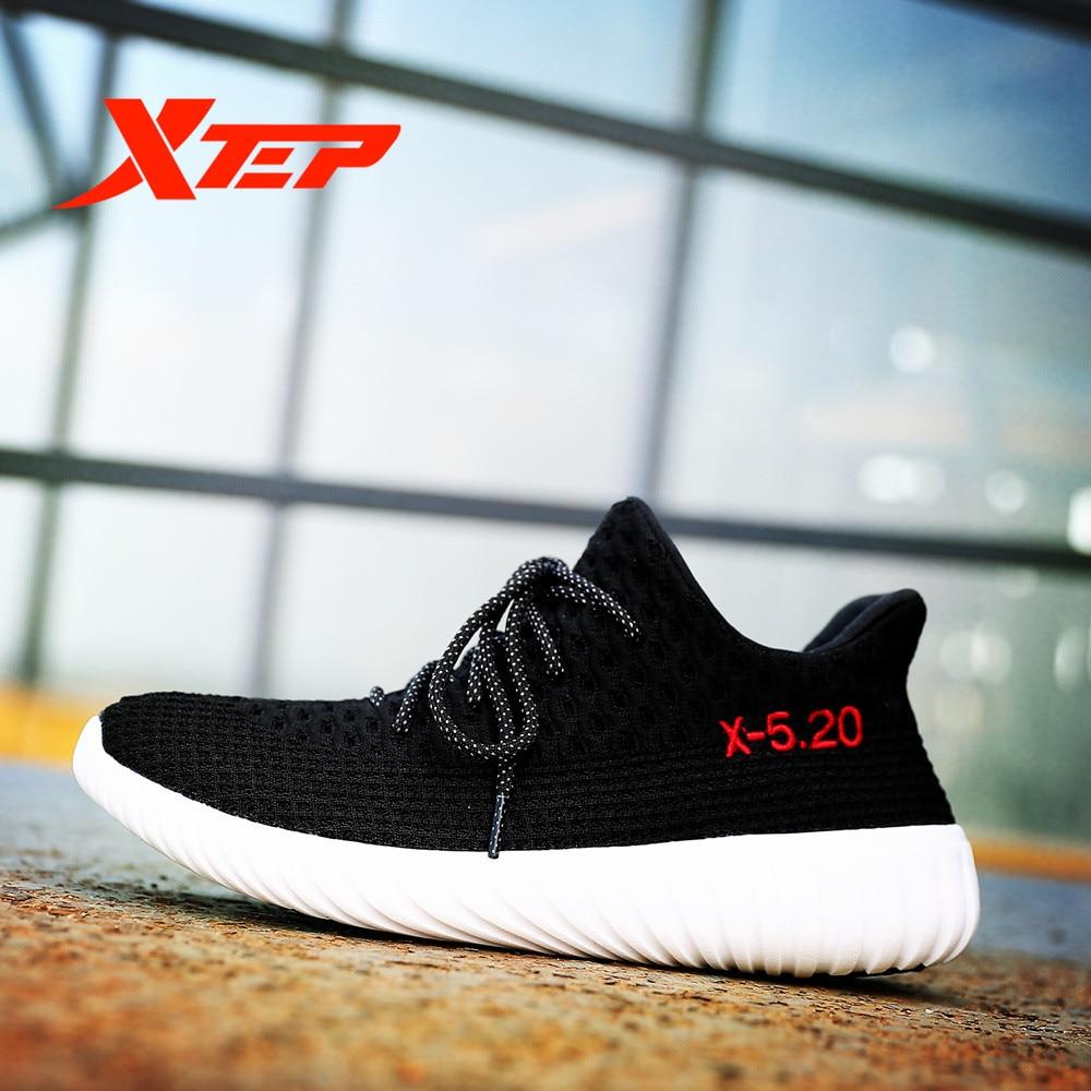 Prix pour Xtep 2017 chaude hommes de coeur amour respirant couple planche à roulettes sport en plein air chaussures sneakers pour hommes livraison gratuite 983419119530