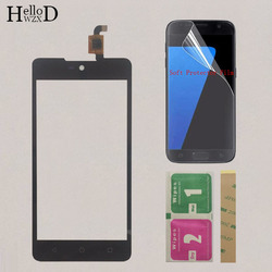 AAA Touch Screen For Wiko Rainbow Lite 4G Touch Screen Capactive Digitizer Front Glass Replacement TouchScreen Protector Film